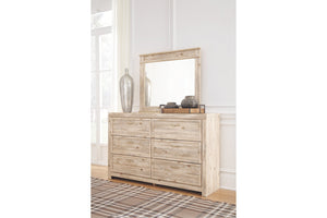 Ashley Furniture Weathered Beige Willabry Bedroom Mirror