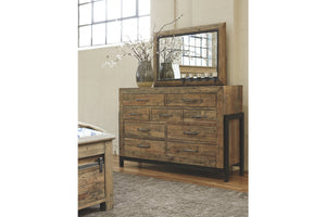 Ashley Furniture Brown Sommerford Bedroom Mirror