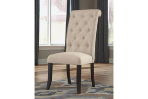 Ashley Furniture Medium Brown Tripton Dining Upholstered Side Chair (2 Count)