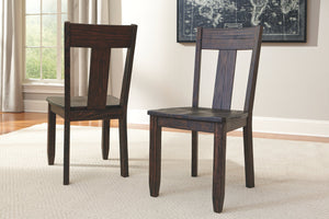 Ashley Furniture Dark Brown Trudell Dining Room Side Chair (2 Count)
