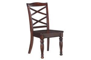 Ashley Furniture Rustic Brown Porter Dining Room Side Chair (2 Count)