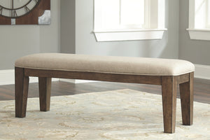 Ashley Furniture Medium Brown Flynnter Dining Room Bench