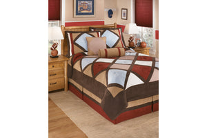Ashley Furniture Multi Academy Full Top of Bed Set