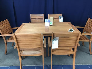 Amazonia Patio Dining Set - $748 compared to $1399