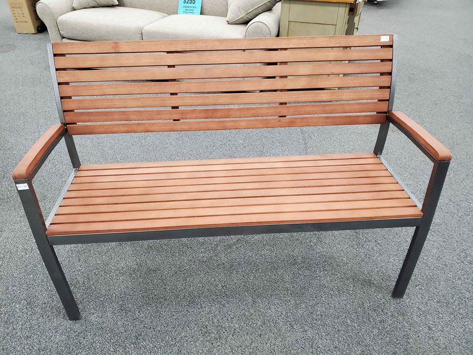 Wooden bench - $104 compare at $249
