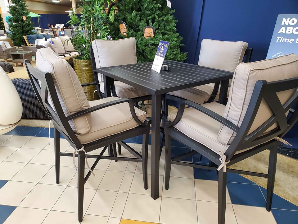 Outdoor By Design 5pc Patio Bar Height Set - $1047 compare at $2199