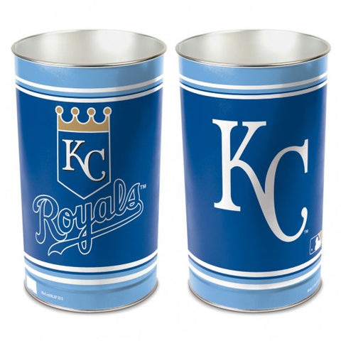 Kansas City Royals Wastebasket 15 Inch