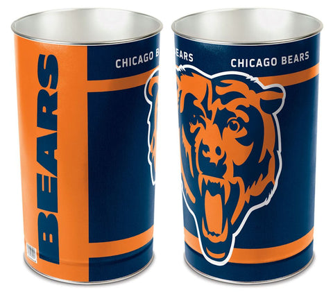 Chicago Bears Wastebasket 15 Inch