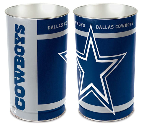 Dallas Cowboys Wastebasket 15 Inch