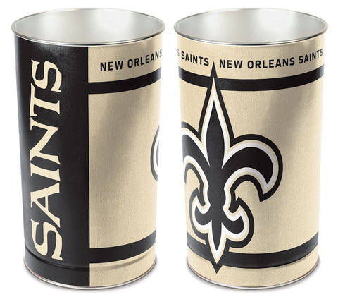 New Orleans Saints Wastebasket 15 Inch