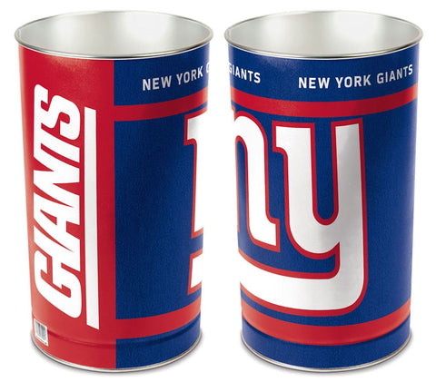 New York Giants Wastebasket 15 Inch