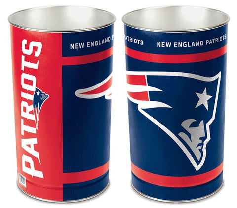 New England Patriots Wastebasket 15 Inch