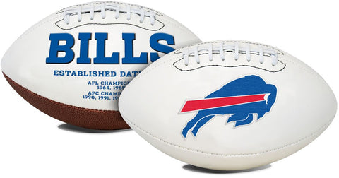 Buffalo Bills Football Full Size Embroidered Signature Series