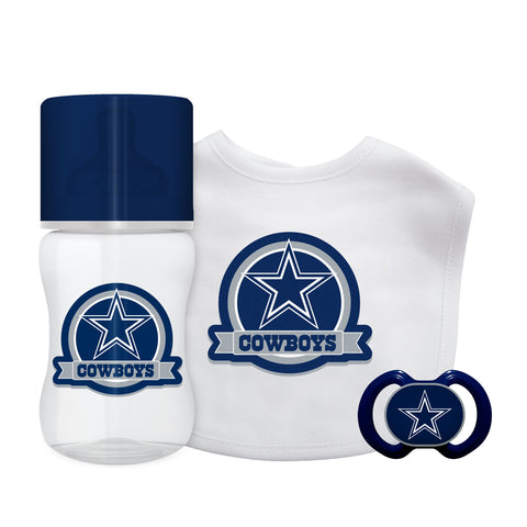 Dallas Cowboys Baby Gift Set 3 Piece