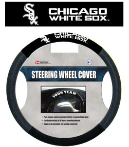 Chicago White Sox Steering Wheel Cover - Mesh