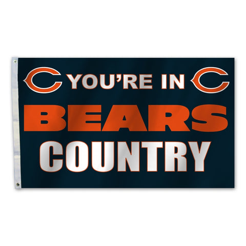 Chicago Bears Flag 3x5 Country