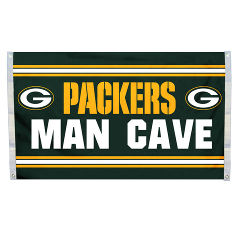 Green Bay Packers Flag 3x5 Man Cave