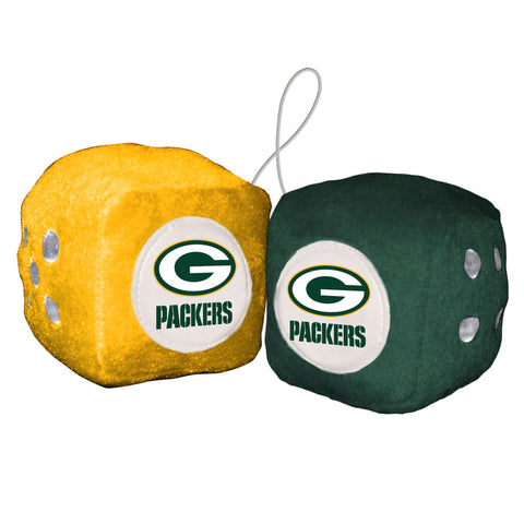 Green Bay Packers Fuzzy Dice