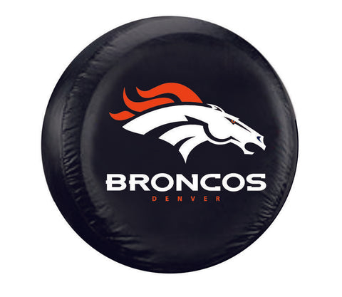 Denver Broncos Tire Cover Large Size Black