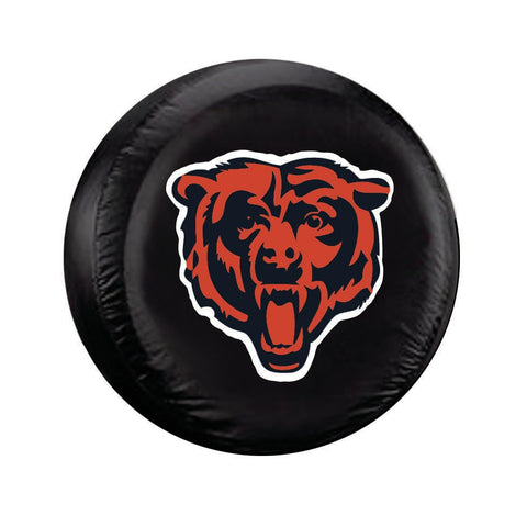 Chicago Bears Tire Cover Standard Size Black