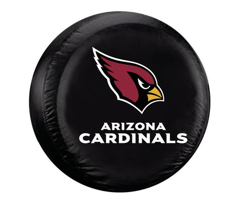 Arizona Cardinals Tire Cover Standard Size Black