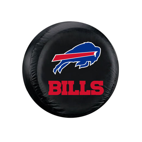 Buffalo Bills Tire Cover Standard Size Black