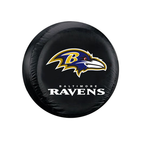Baltimore Ravens Tire Cover Standard Size Black