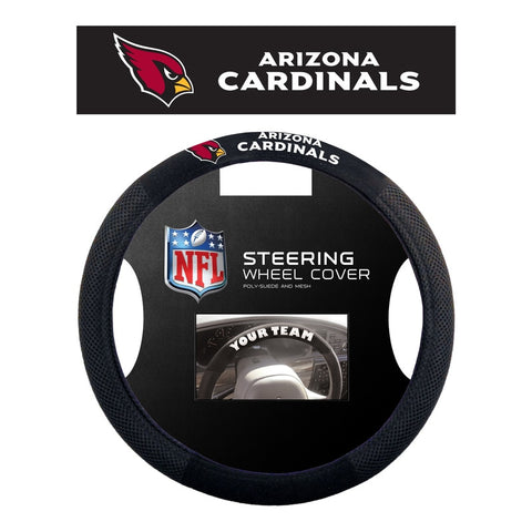 Arizona Cardinals Steering Wheel Cover - Mesh