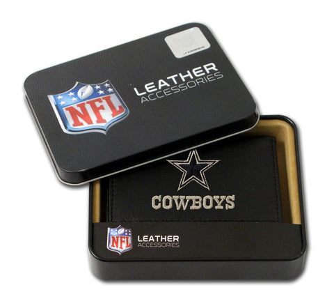 Dallas Cowboys Wallet Trifold Leather Embroidered