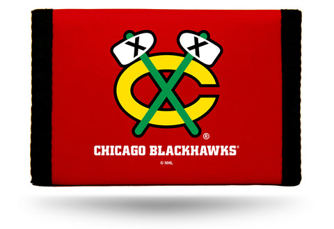 Chicago Blackhawks Wallet Nylon Trifold