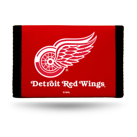 Detroit Red Wings Wallet Nylon Trifold