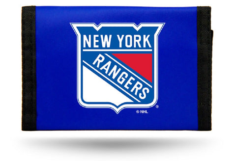 New York Rangers Wallet Nylon Trifold