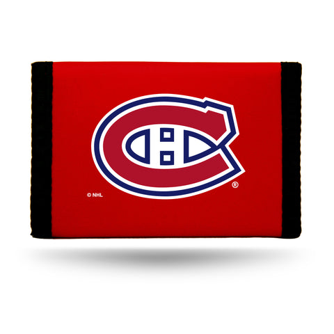 Montreal Canadiens Wallet Nylon Trifold Alternate