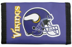 Minnesota Vikings Wallet Nylon Trifold