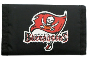 Tampa Bay Buccaneers Wallet Nylon Trifold