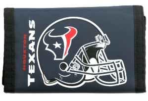 Houston Texans Wallet Nylon Trifold