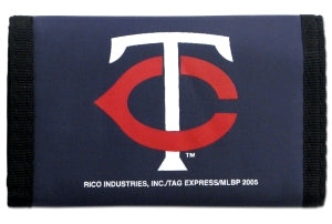 Minnesota Twins Wallet Nylon Trifold