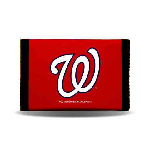 Washington Nationals Wallet Nylon Trifold