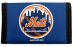New York Mets Wallet Nylon Trifold