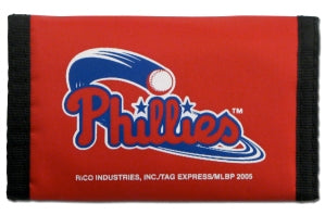 Philadelphia Phillies Wallet Nylon Trifold