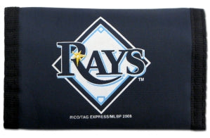 Tampa Bay Rays Wallet Nylon Trifold
