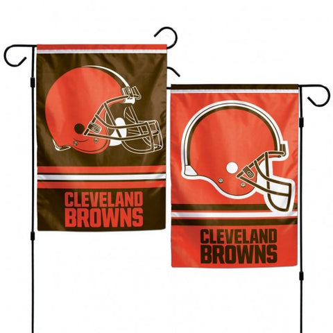 Cleveland Browns Flag 12x18 Garden Style 2 Sided