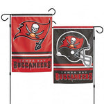 Tampa Bay Buccaneers Flag 12x18 Garden Style 2 Sided