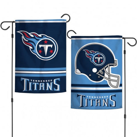 Tennessee Titans Flag 12x18 Garden Style 2 Sided