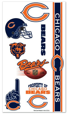 Chicago Bears Temporary Tattoos