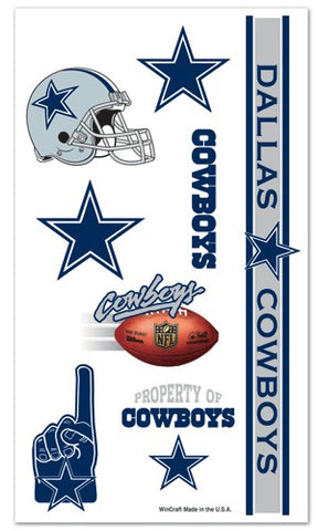 Dallas Cowboys Temporary Tattoos