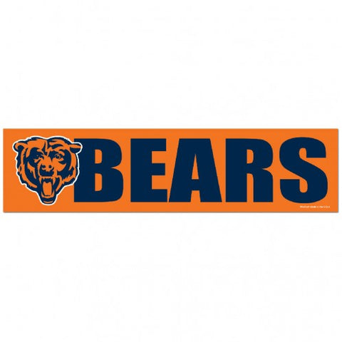 Chicago Bears Decal Bumper Sticker