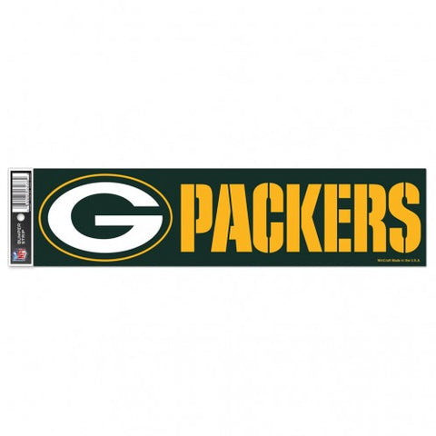Green Bay Packers Decal Bumper Sticker