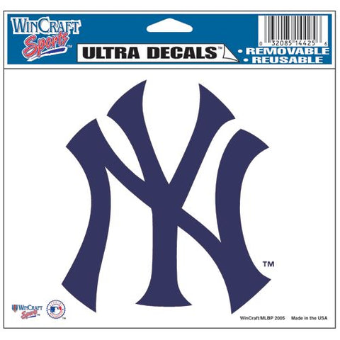 New York Yankees Decal 5x6 Ultra Color