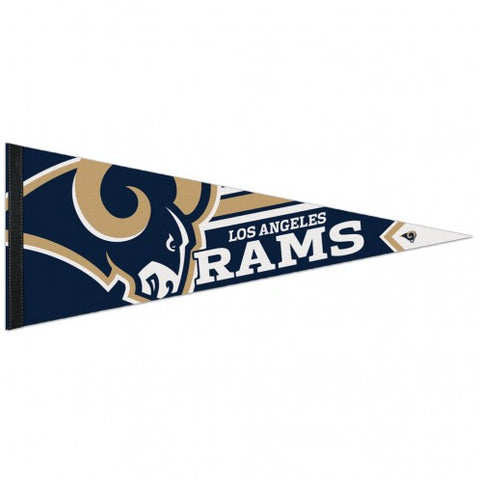 Los Angeles Rams Pennant 12x30 Premium Style